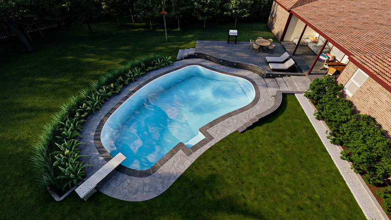 Pool Design, Bedford, TX