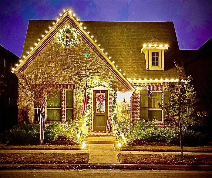 Viridian Christmas Lights