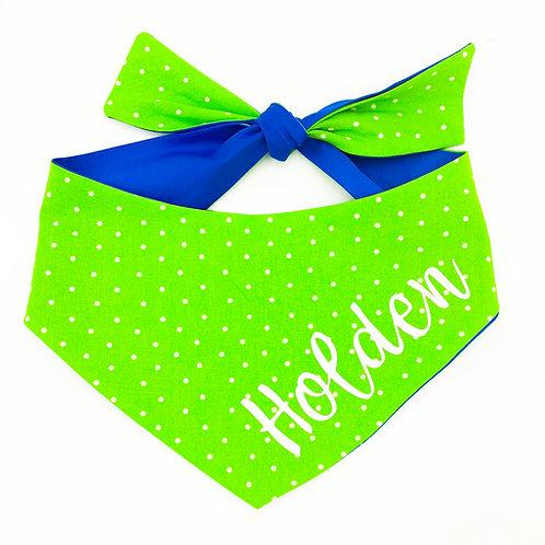 Green Polka Dots Bandana