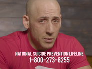Kevin Hines and Suicide Prevention Hotline