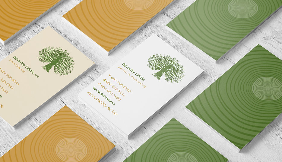 Logo design, business cards and collateral print work