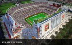 """Former """"New Santa Clara Stadium"""""""