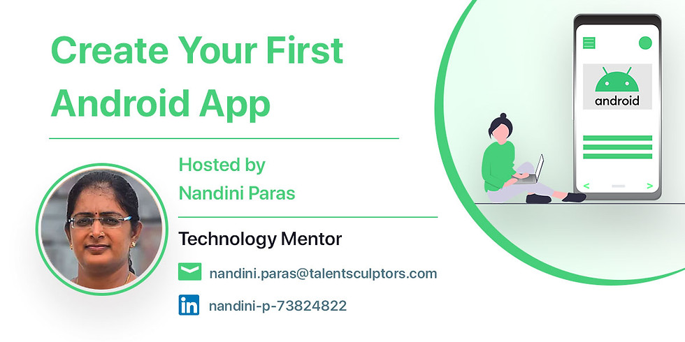 Create your first Android App
