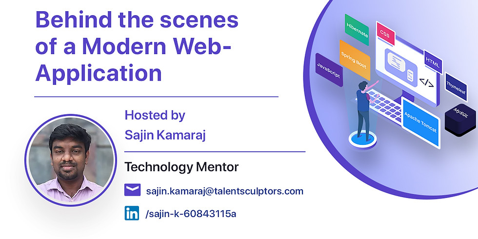 Behind the scenes of a Modern Web-Application