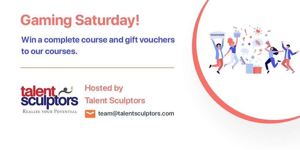 Gaming Saturday with Talent Sculptors