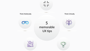 5 memorable UX tips