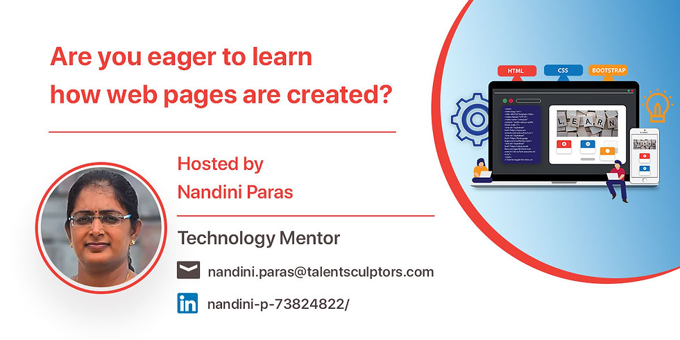 Are you eager to learn how web pages are created?