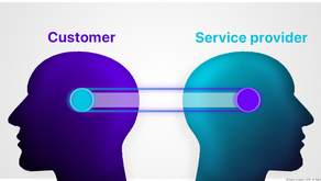How you invariably switch roles between Customer and Service provider