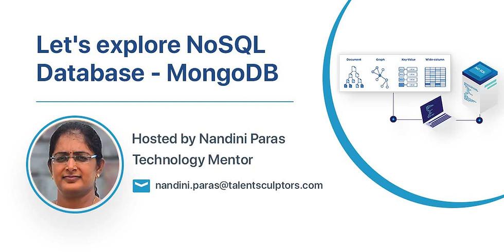 Let's explore NoSQL Database - MongoDB