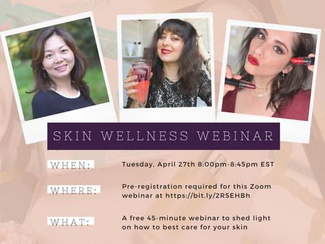 Skin Wellness Webinar