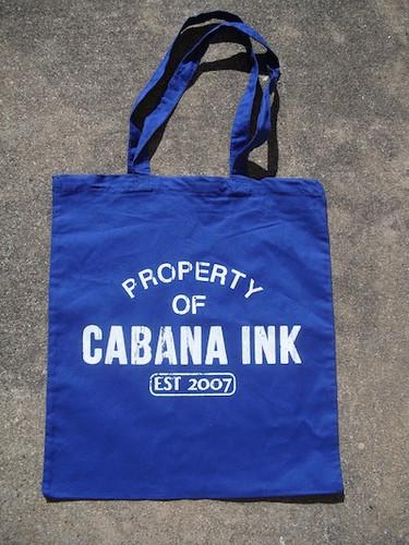 cabana ink, cabana inc, cabana ink studio, bags, custom bag, austin printing, custom t-shirts, custom shirts