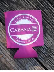 kozies, koozies, custom kozies, custom printing, print, cabana ink, cabana inc