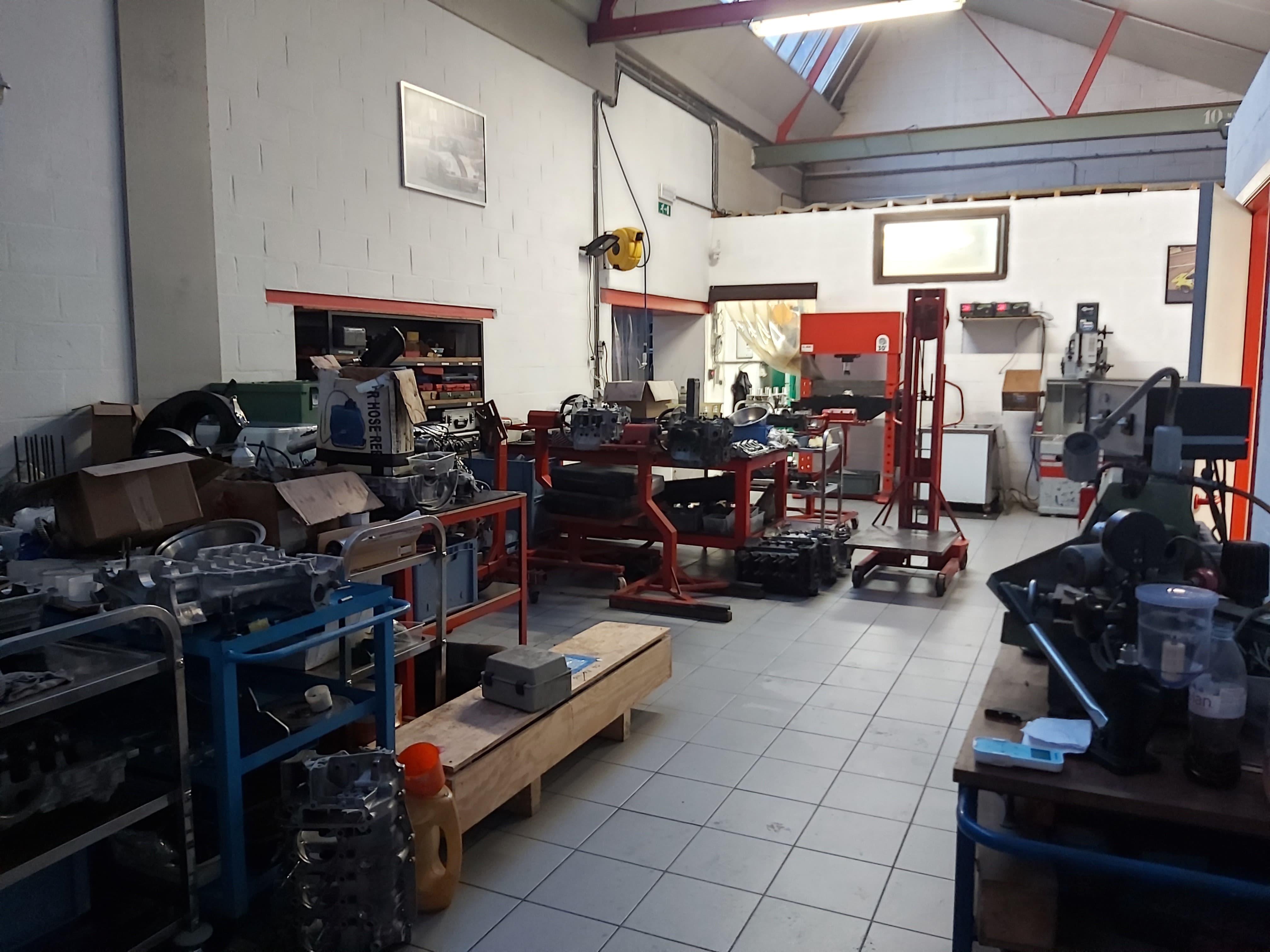 Atelier boîte de vitesses