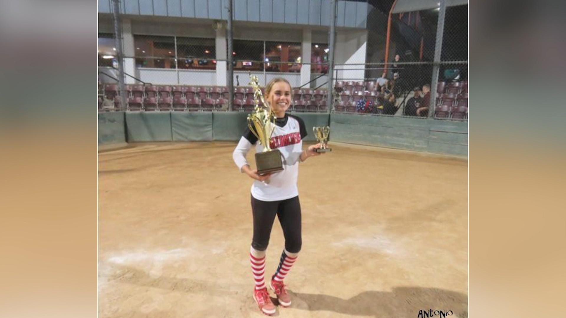 H.S. Softball Star Taryn Clements