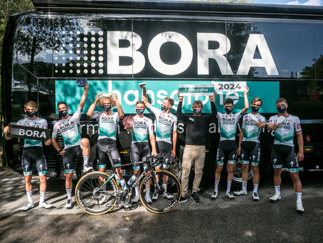 BORA and hansgrohe extend sponsorship until 2024