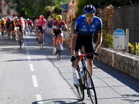 Gogl punctuates stage 2 for NTT Pro Cycling