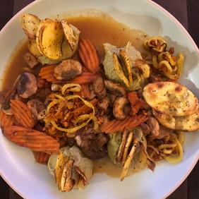 split pea plantains carrots experiment.j