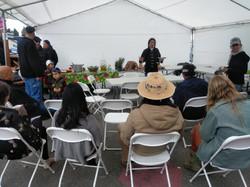 Mongol Tribe presenting at Advocacy Thru