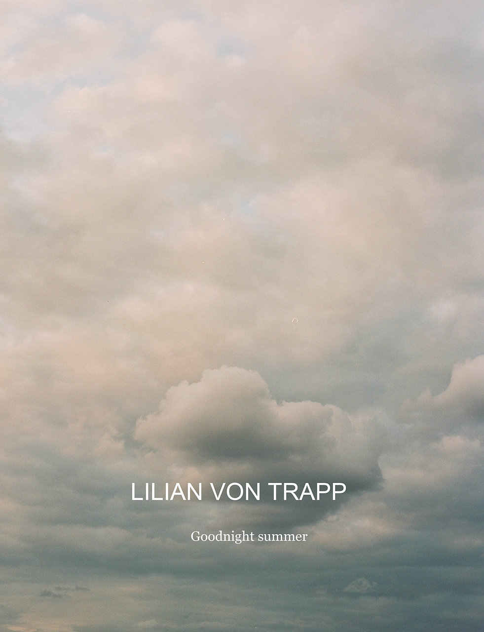 LILIAN_VON_TRAPP_Goodnight_Summer_Video.