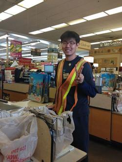 Jeffery happy at work