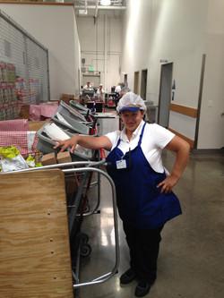 Belinda at work
