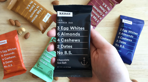 RxBar creates a new and modern packaging that appeals to many