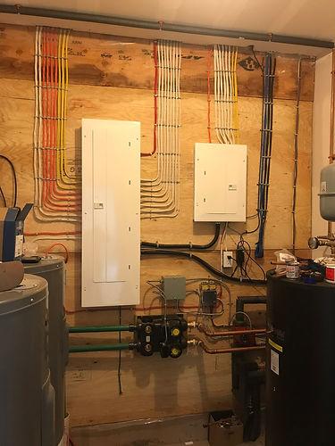 200amp service with 60amp generator pane