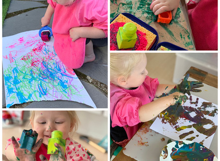Top ideas for Messy Play at home