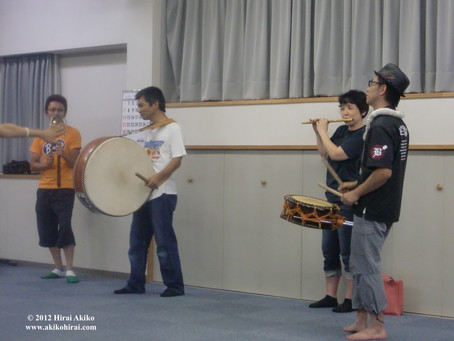 Awa odori (dance) : instruments