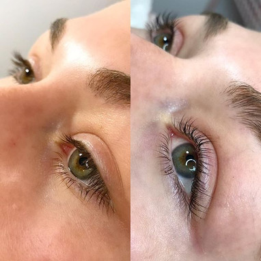 Enhance your natural lashes with a lash