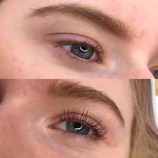 Ladies- ready to toss the curler_ A lash