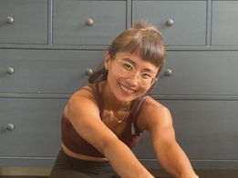 Stretch with Ain to counteract acute neck pain from sitting all day
