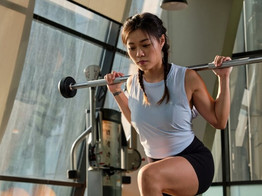 No equipment workout from home with personal trainer Sharlynn Ooi