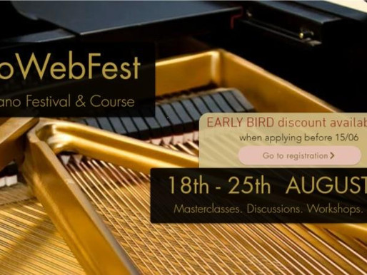 Pianowebfest - all about international online  communication