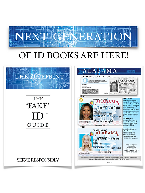 "The BLUEPRINT ""Fake ID Guide"""