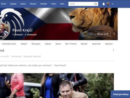 Nová profilová stránka je tu!