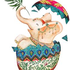 Elephant de Pâques