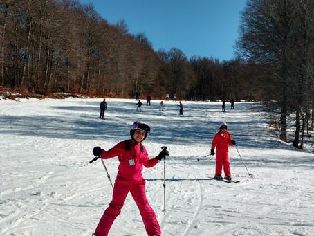 Skiez proche de bellevue d'Aveyron