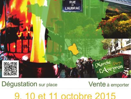Marché des Pays de l'Aveyron à Bercy
