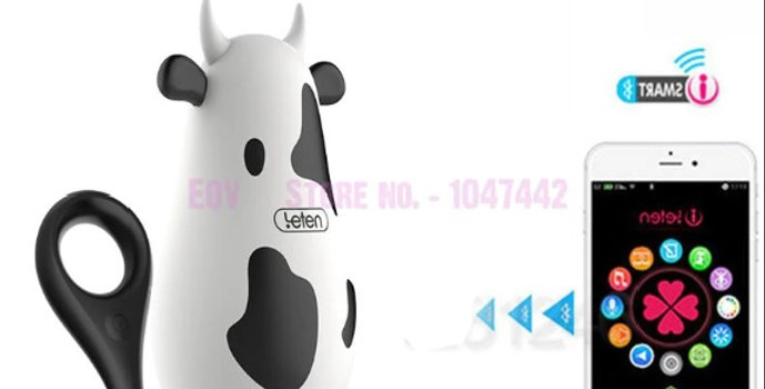 70090 Vibrador c/App Little Cow