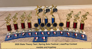 2020 student medals/trophies