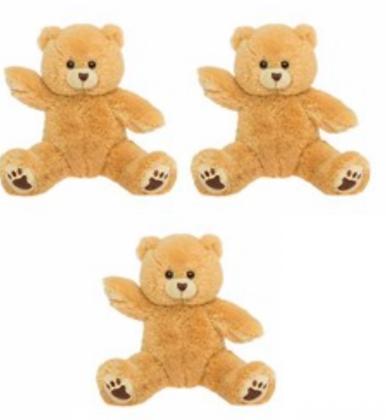 THREE Bear kits