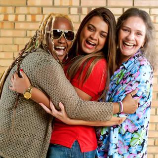 Sandra, Preta e Rorô
