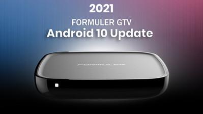 2021 FORMULER GTV Android 10 Update