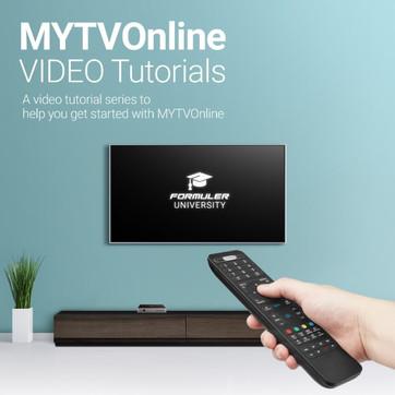 MYTVOnline Video Tutorials Series