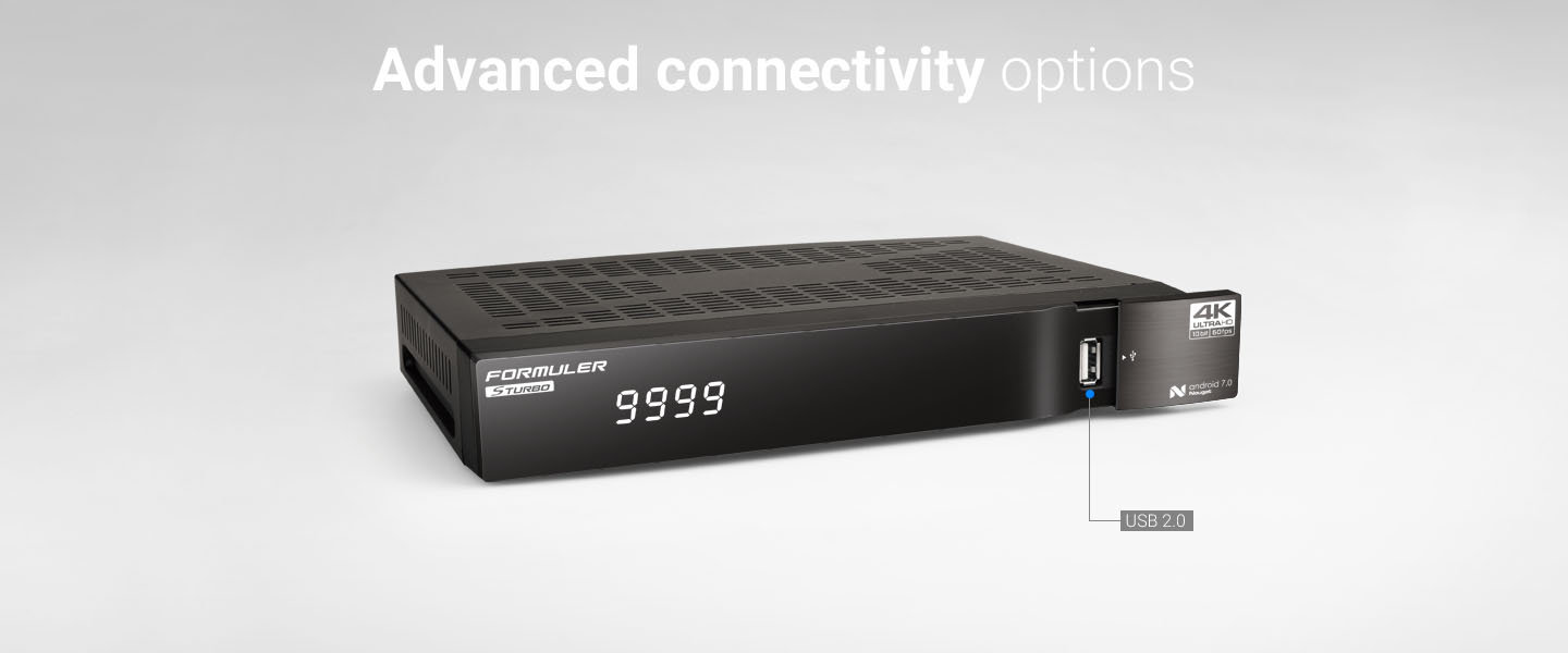 Advanced connectivity options