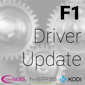 F1 Driver Update