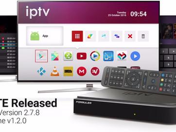 Formuler IPTV Software Update
