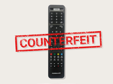 Warning about counterfeit Formuler remotes.