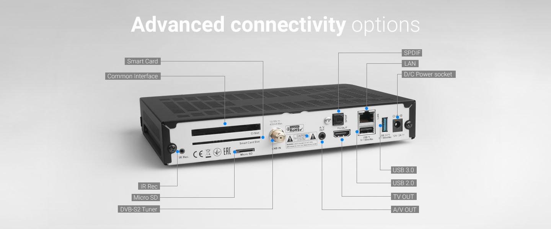 Advanced connectivity options